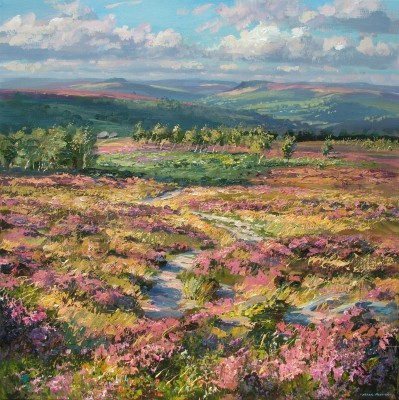 British art, paintings of landscapes