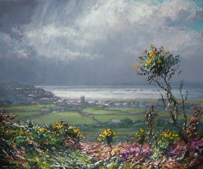 British Artist Mark PRESTON - Sunshine and Showers, St Just