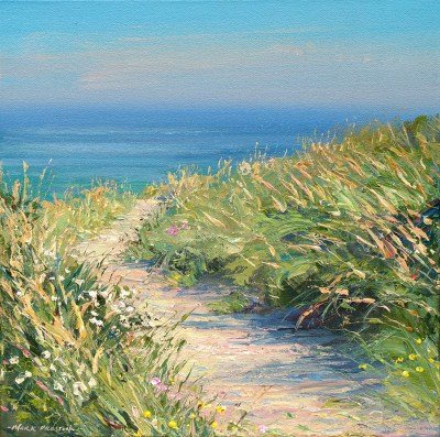 British Artist Mark PRESTON - Path Through the Dunes