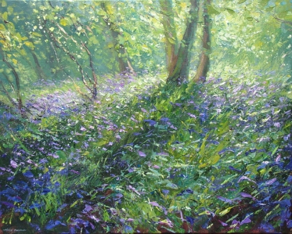 Mark PRESTON - Spring Woodland