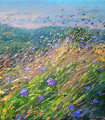 Mark PRESTON - Edge of a Field in August