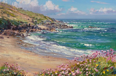 Limited Edition Prints Artist Mark Preston - Blue Sky and Thrift