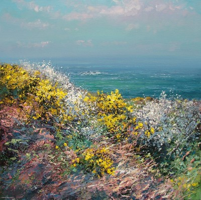 Gorse and Blackthorn Blossom