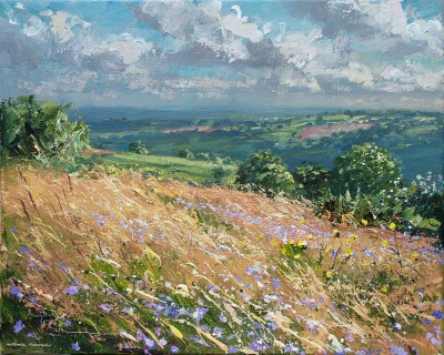 Harebells and Grasses, Ashleyhay
