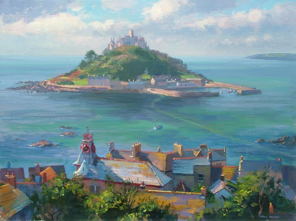 Mark Preston - Rooftops Marazion