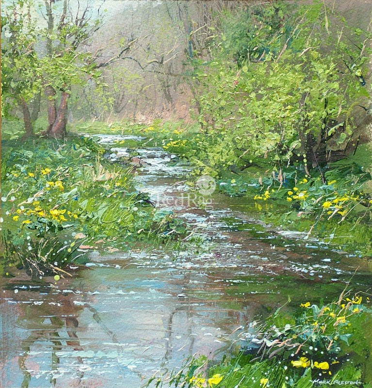Mark PRESTON - Marsh Marigolds, Monk's Dale