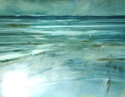 British Artist Martin CAULKIN - Remembered Horizon
