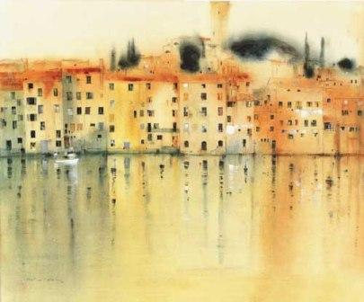 British Artist Martin CAULKIN - Colour Washed