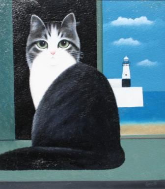British Artist Martin LEMAN - Lighthouse