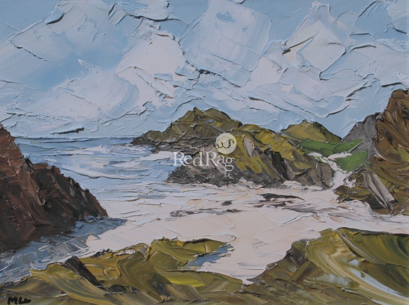 Martin LLEWELLYN - Beach and Rocks, Iona