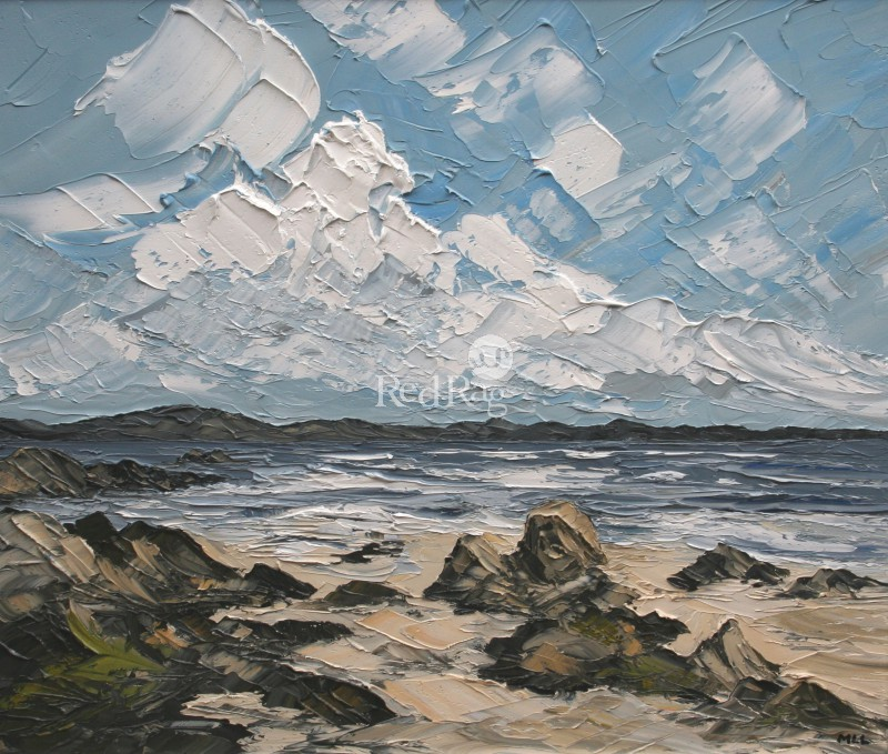 Martin LLEWELLYN - Clouds Over Iona