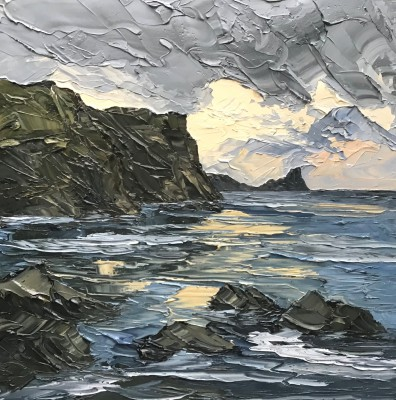 Martin LLEWELLYN - Breaking Light, Worms Head
