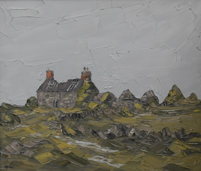 Martin LLEWELLYN, contemporary artist - Abandoned Farm