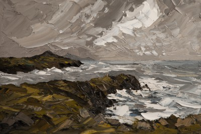 Martin LLEWELLYN, contemporary artist - Abereiddy Pembrokeshire