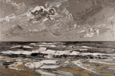 Martin LLEWELLYN, contemporary artist&nbsp;-&nbsp;<span style='color:red;font-size: 200%'>&#8226;</span> Beach Cardigan Bay