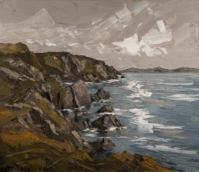 Martin LLEWELLYN, contemporary artist&nbsp;-&nbsp;<span style='color:red;font-size: 200%'>&#8226;</span> Cliffs Pembrokeshire