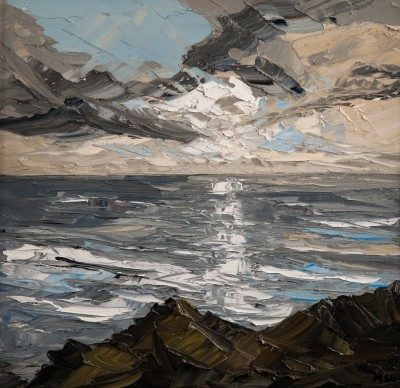 Martin LLEWELLYN, contemporary artist&nbsp;-&nbsp;<span style='color:red;font-size: 200%'>&#8226;</span> Reflections Llyn Penisula
