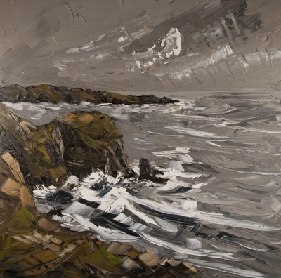 British Artist Martin LLEWELLYN - South Stack Cliffs
