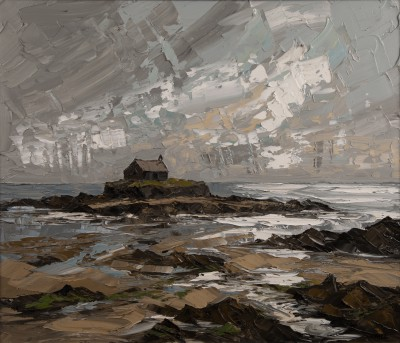 Martin LLEWELLYN, contemporary artist&nbsp;-&nbsp;<span style='color:red;font-size: 200%'>&#8226;</span> St Cwyfan's Church