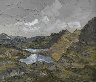 Martin LLEWELLYN - View From The Pyg Track