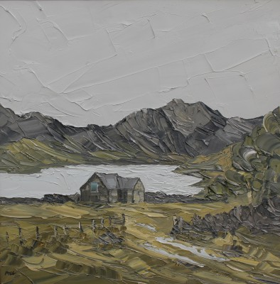 Martin LLEWELLYN, contemporary artist - View Of Y Garn