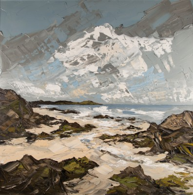 Martin LLEWELLYN, contemporary artist&nbsp;-&nbsp;<span style='color:red;font-size: 200%'>&#8226;</span> White Sand, Iona