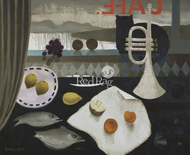 Mary FEDDEN - Black Cat Cafe