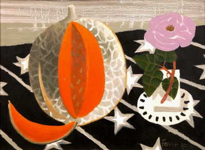 British Artist Mary FEDDEN - The Cantaloupe Melon