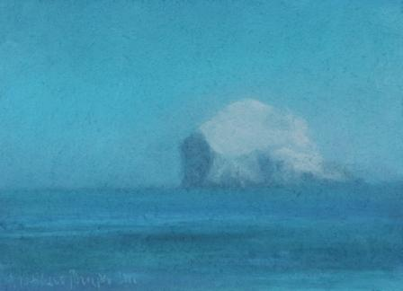 British Artist Matthew DRAPER - Bass Rock