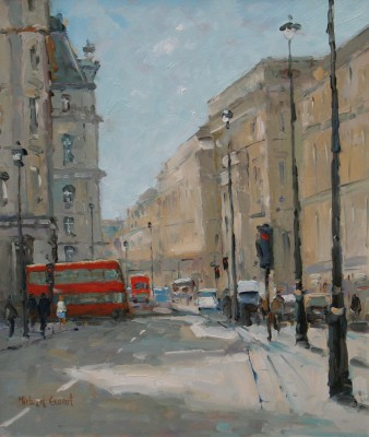 British Artist Michael EWART - City Shadows