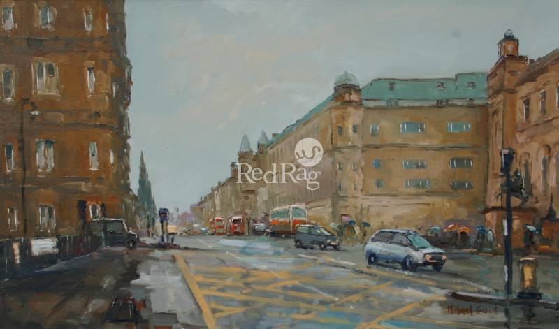 Michael EWART - Towards Princes Street, Edinburgh