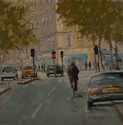 British Artist Michael EWART - City Traffic