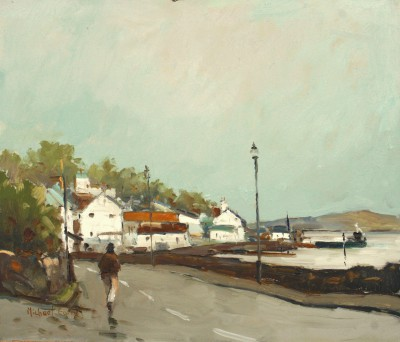British Artist Michael EWART - Kippford on the Solway