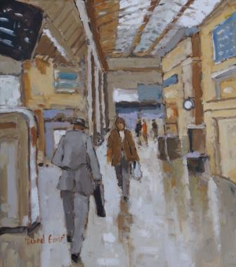 British Artist Michael EWART - Victoria Train Station