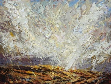 Michael FAIRCLOUGH - Snowfall V, Alston Moor, Cumbria