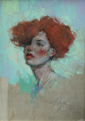 British Artist Michael HYAM - Study of Sarah