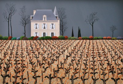 Michael KIDD - Chateau Latour in Winter