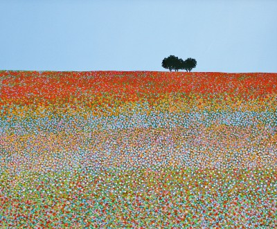 British Artist Michael KIDD - Field of Summer
