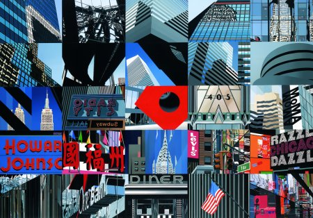 British Artist Michael Kidd - New York in 20 Seconds
