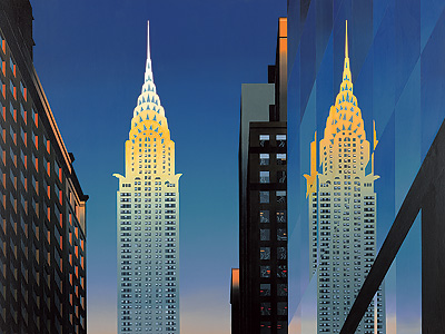 British Artist Michael Kidd - The Chrysler Building