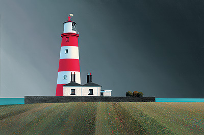 British Artist Michael Kidd - Happisburgh