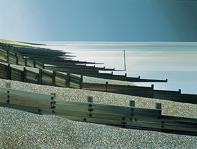 Limited Edition Prints Artist Michael Kidd - Silent Silver Sea