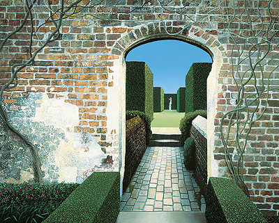 British Artist Michael Kidd - Sissinghurst