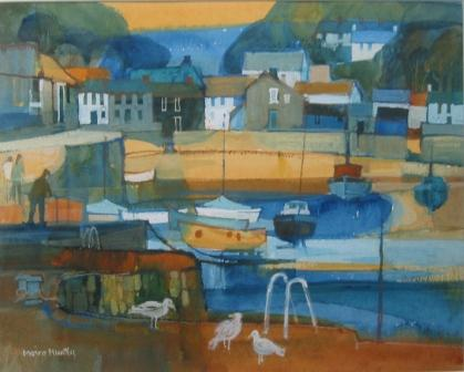 Moira HUNTLY - Old Harbour Fishguard