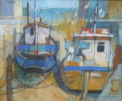 Moira HUNTLY - Whitby Boats
