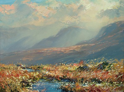 Mark PRESTON - Moorland Pools, above Honister Pass