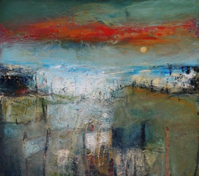 'Summer Sky East Neuk, Fife' painting