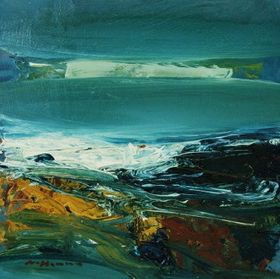 Nael HANNA, contemporary artist - North Sea Waters, Fife