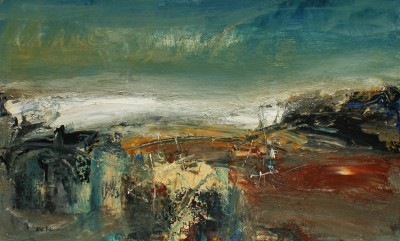Nael HANNA, contemporary artist - Road to Ethie, Angus