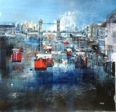 Nagib KARSAN - River Thames and Tower Bridge